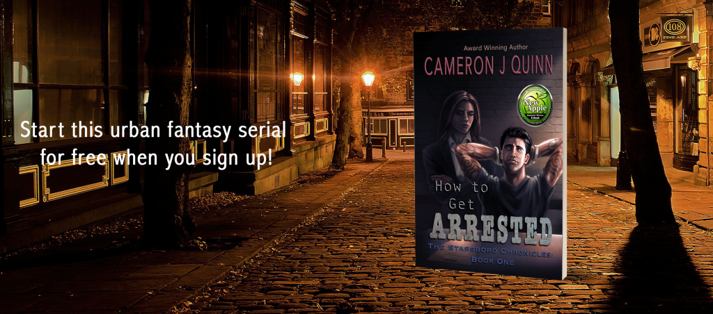 urban fantasy how to get arrested
